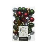 Shatterproof Baubles Mix x33 Christmas Eve (020150)