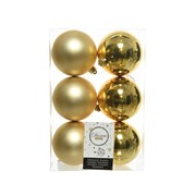 Shatterproof Baublesx 6 Light Gold 8cm (022050)
