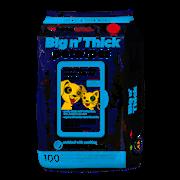 Sharples Petkin Big N Thick Pet Wipes 100s (644323)