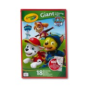 Crayola Paw Patrol Giant Colouring Pages with Stickers (04-0375-E-000)