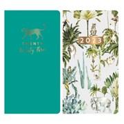 Butterfly Foil Slim Diary Asst Slim (0410)