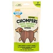 Goodboy Chompers Medium Dental Sticks 135mm 7pk 210g (05201)