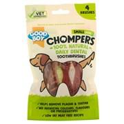 Goodboy Chompers Small Dental Toothbrush 70mm 4pk 60g (05203)