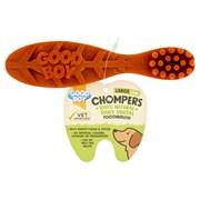 Goodboy Chompers Large Dental Toothbrush 155mm 1pk 65g (05205)