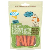 Goodboy Chewy Chicken with Carrot Sticks Dog Treats 90g (05769)