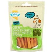 Goodboy Chewy Chicken with Sweet Potato Sticks Dog Treats 90g (05772)