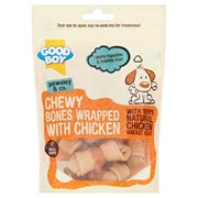 Goodboy Mini Chewy Bones Wrapped with Chicken 7 Pack (05786)