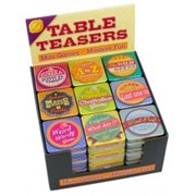 Cheatwell Table Teasers After Dinner Games Assorted (06505)