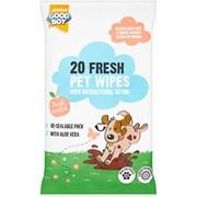 Goodboy 20 Fresh Pet Antibacterial Wipes (07908)