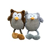 Good Boy Hug Tugs Owls Dog Toy (08742)