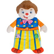 Golden Bear Mr Tumble Weighted Calming Companion - swing ticke (1016ST)