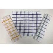 Dh.cotton Check Dishcloth 12s (102-001)