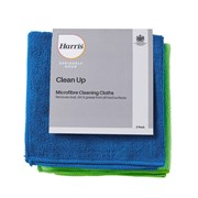 Harris Seriously Good Microfibre Cleaning Cloths 2pk (102114005)