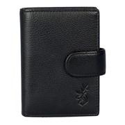 Kensington Metal Sleeve Zip Wallet Black (1026-31 BLACK)