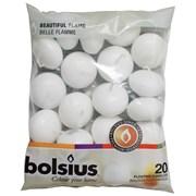 Bolsius 20 Floating Candles White (CN5205/103632053702)