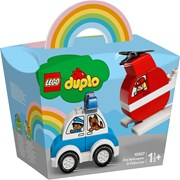 Lego® Duplo Fire Helicopter & Police Car (10957)