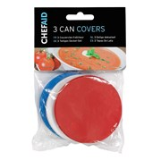 Chef Aid Can Covers x 3 7.5cm (10E00863)
