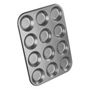 Chef Aid 12 Cup Shallow Bun Tin (10E10285)
