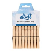 Elliots Pinewood Clothes Pegs 36s (10F30572)