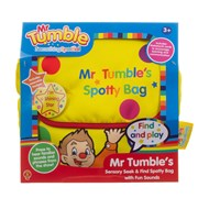 Golden Bear Mr Tumble's Sensory Seek and Find Spotty Bag with (1163R)