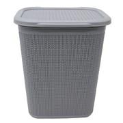 Jvl Loop Laundry Basket Grey 50ltr (13-350GY)
