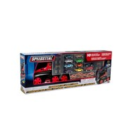 Hti Teamsterz Large Transporter with 10 Cars (1416448.USA)