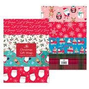 Flat Pack Gift Wrap 8sheet (1489)