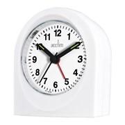 Palma Alarm Clock White (15062)