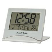 Mini Flip Ii  Alarm Clock Grey (15787)