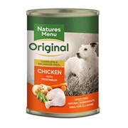 Natures Menu Natural Dog Food Cans Assorted 400g (NMCMUL)