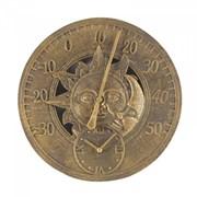 "Smart Garden Sun & Moon Wall Thermometer & Clock 12"" (5065020)"