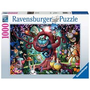 Ravensburger Almost Everyone Is Mad Alice In Wonderland Puzzle 1000pc (16456)