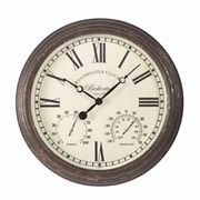 "Smart Garden Bickerton Wall Clock & Thermometer 15"" (5060001)"