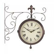 "Smart Garden Marylebone Station Wall Clock & Thermometer 5.5"" (5063010)"