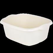 Wham Casa Rectangular Bowl Soft Cream (17236)