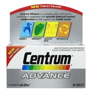 Centrum Advance Multi-vitamins 60s (023272)