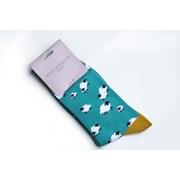 Miss Sparrow Green Socks (18079GREEN)