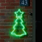 Three Kings Neon-esque Christmas Tree X/lge (2512032)