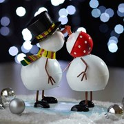 Three Kings Mr & Mrs Frosty 19cm (2530050)