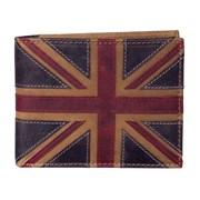 Union Jack Wallet Brown Multi (197-29 BROWN MULTI)