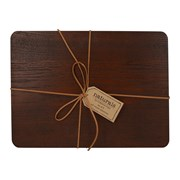 Creativetops Creative Tops Naturals Wooden Placemats Brown 4pk (5225817)