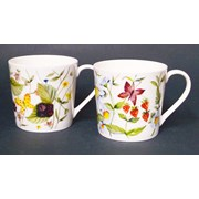 Just Mugs Dorset Wild Hedgerow Mugs