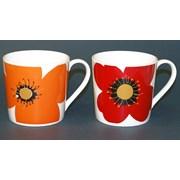 Just Mugs Dorset Gold Spot Poppy Mug