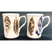 Just Mugs Buxton Feathers Mug (90428)