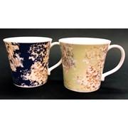 Just Mugs Mersey White Flowers Mug (90431)