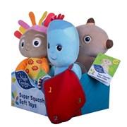 Golden Bear In the Night Garden Super Squashy Soft Toys asst'd (2066)