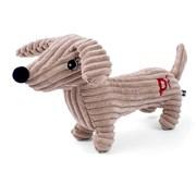Petface Dougie Deli Dog Cord Toy Tan (21010)