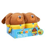 Golden Bear Duggee Hug Squashy Soft Toy in 4pc Cdu (2142)