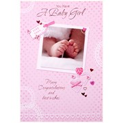 Simon Elvin Baby Girl Cards (21756)