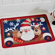 Three Kings Santa And Friends Mat 60x40 (5520005)